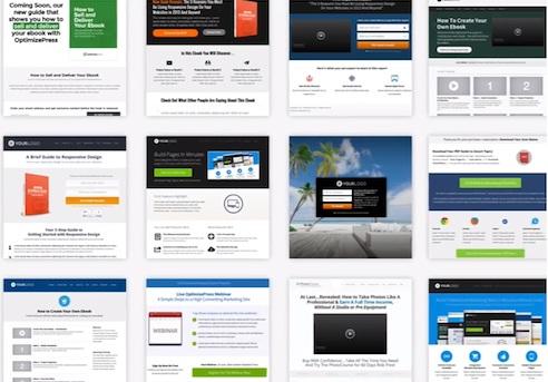 OptimizePress Theme Gallery